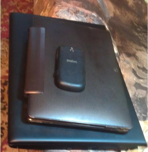 PalmOS, Android+debian, ноутбук.