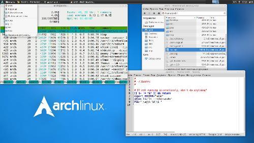 Ещё один Arch с Xfce