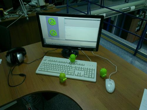 Место для разработки на Qt