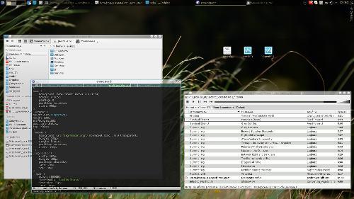 С awesome на KDE4