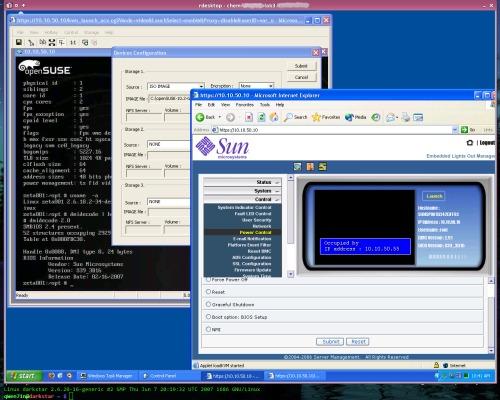 Sun Fire X2200, LOM, Suse, Ubuntu + оффтопик посредине
