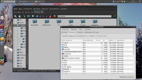 Debian Openbox Desktop