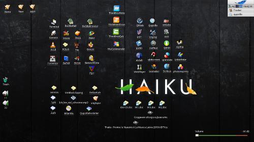 HaikuOS - пакетная. Обзор софта.