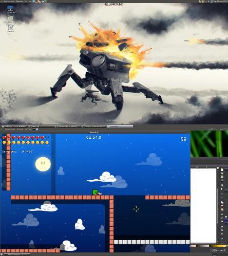 multiseat desktop