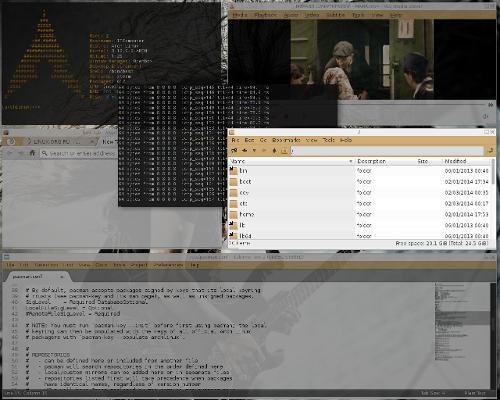 Arch linux & Openbox новый рабочий стол