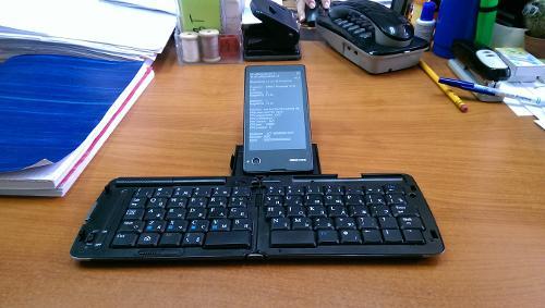Terminal Emulator на YotaPhone