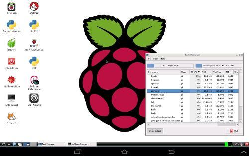 Android-планшет, как экран для Raspberry Pi
