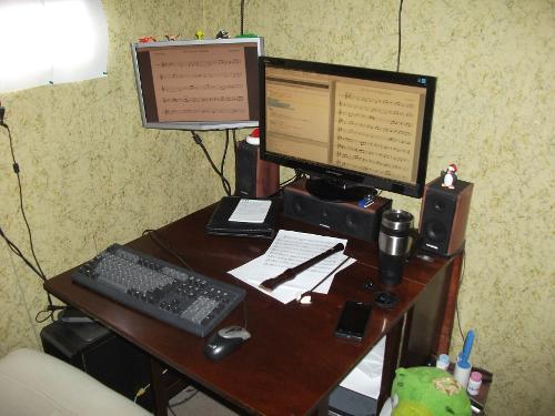 Linux и блокфлейта