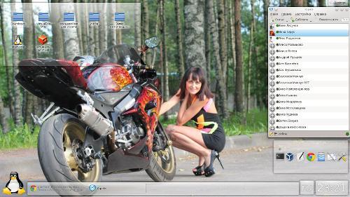 Перешёл на KDE