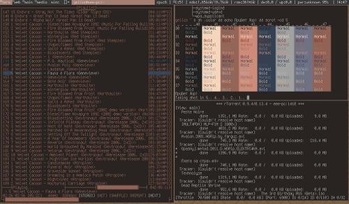 Arch без openbox, кофейный dwm