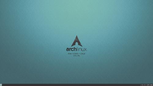 Arch, i3 v0.2