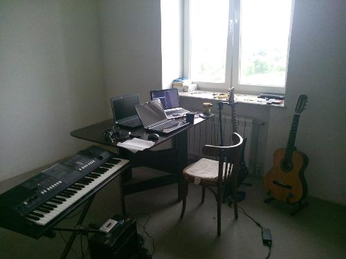 Домашний стол после чистки