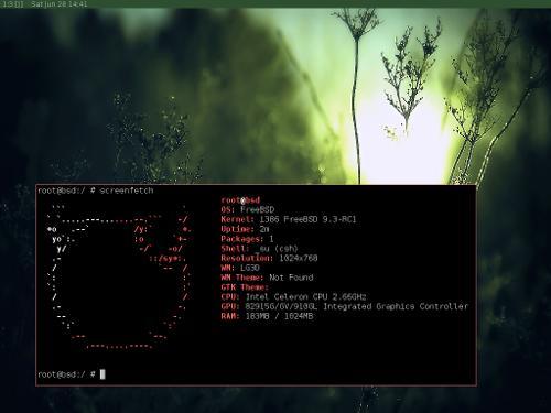 FreeBSD + spectrwm