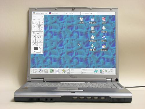 Mandrake Air на ноутбуке дедушки