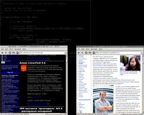 Netsurf browser