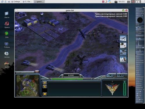 Command & Conquer Generals в ОС Linux