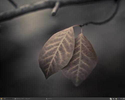 Arch. KDE. Осень.