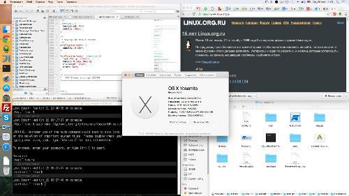 OS X Yosemite версия 10.10
