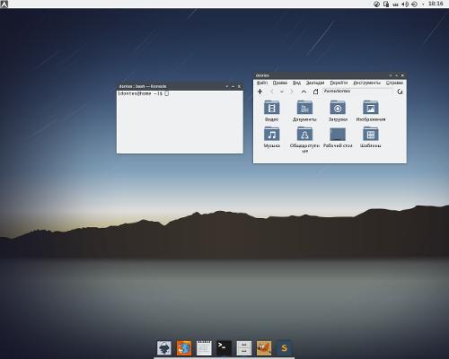 Flat KDE