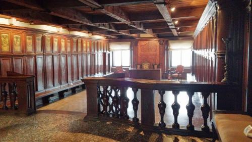 Помещение, где осуществлялось резервное копирование документооборота Венецианской республики
