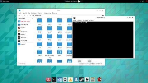 Закос под GNOME(!)