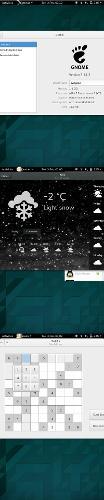 GNOME Shell на Nexus 7 2013