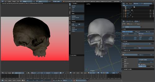3D, Blender - первый опыт