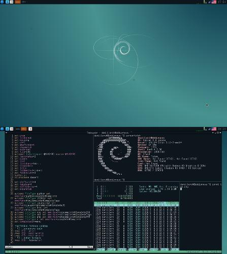 Xfce and Tmux