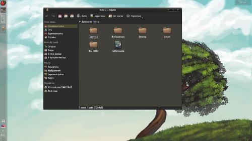 Скромный, но уютный KDE