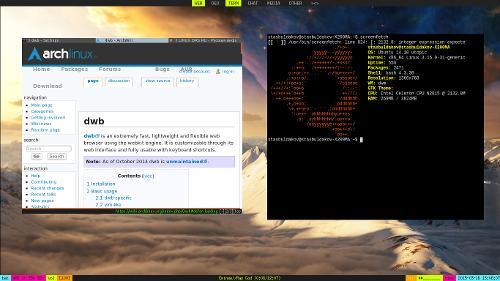 Ubuntu и допиленный dwm