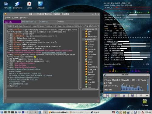 Debian 4.0 & Tkabber 0.10-svn