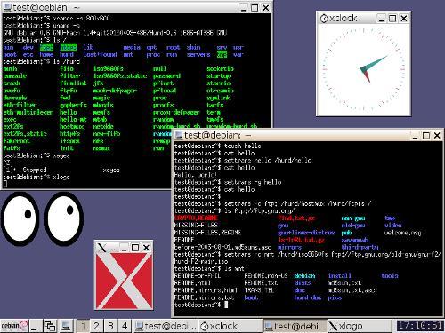 Debian GNU/Hurd в QEMU