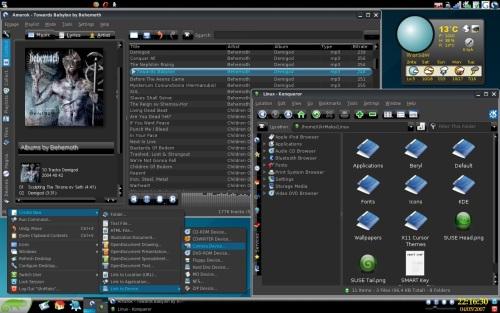 Black openSUSE 10.2