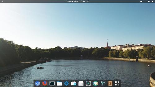 Fedora 22 - Gnome 3.16