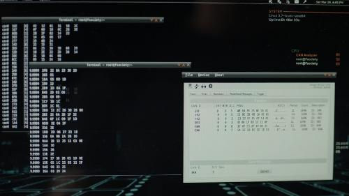Скриншот: Linux и Open Source в ТВ-шоу «Mr. Robot»