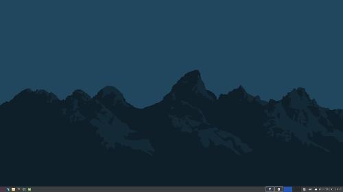 Минималистичный Debian с XFCE.