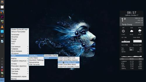 Почти быстрый редизайн BunsenLabs— Debian