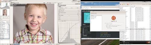 Ubuntu 15.10, RawTherapee и обработка семейных фотографий