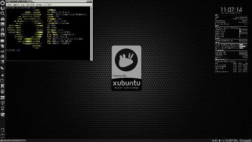 Conky в Xubuntu