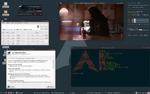 Раз такое дело тогда XFCE + Archlinux
