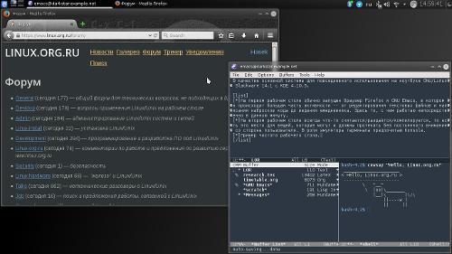 Повседневная система на базе Slackware
