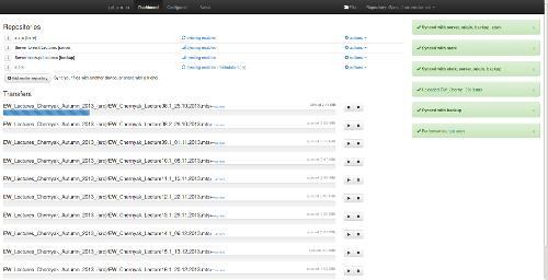 git-annex assistant webapp