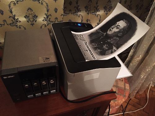 МФ БАР: Запилил себе NAS + сетевой принтер и все по WiFi
