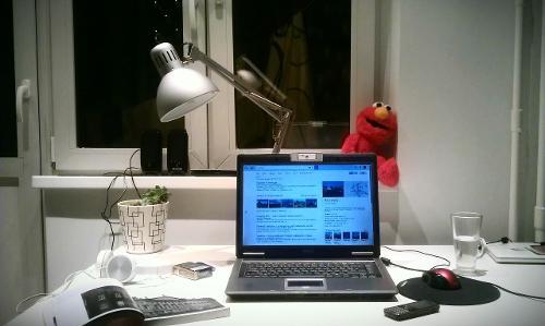 Ночь. Комната. Лэптоп. Работа.