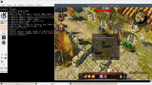 Скриншот: Divinity Original Sin Enhanced Edition @ Mesa r600g