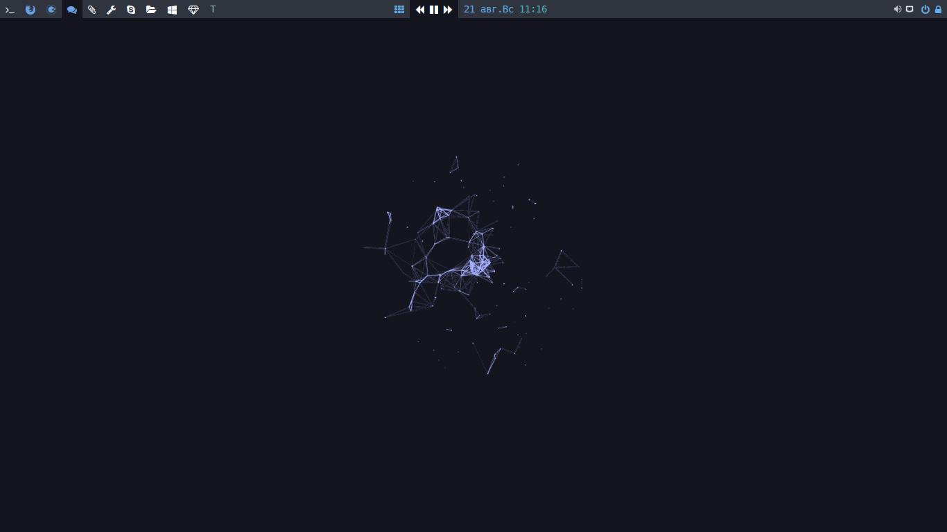 Archlinux + bspwm v 2 — Скриншоты — Галерея