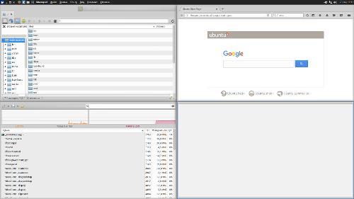 Xubuntu Core 16.04.1 x64. Тайлинг + Глобальное меню