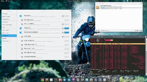 GNOME 3.20 на Arch Linux