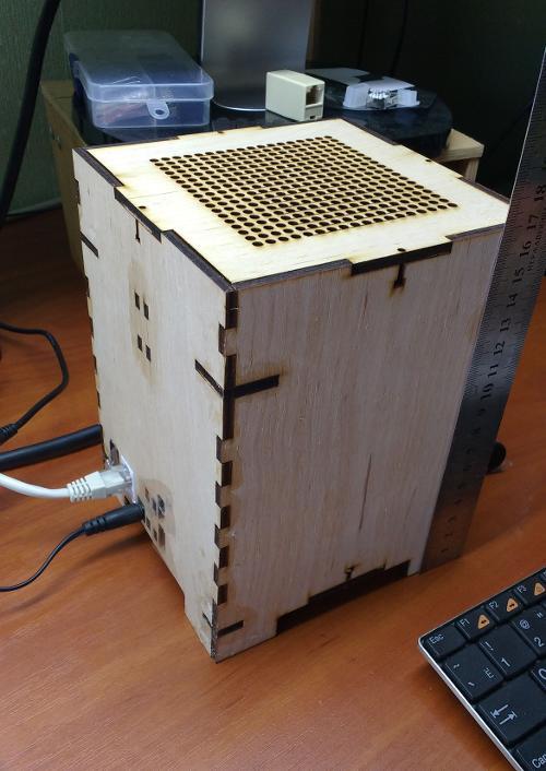 Бесшумный мини-сервер