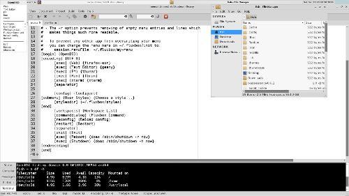 Просто OpenBSD + Fluxbox